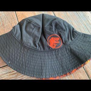 Nwt Gymboree boys reversible Jurassic Bucket Hat